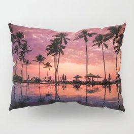 Paradise Sunset Tropical (Color) Pillow Sham