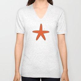 Cute Star Unisex V-Neck