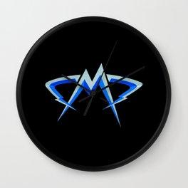 m logo Wall Clock