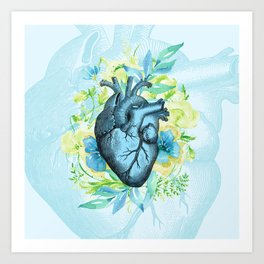 Rest Your Heart Here, Dear Art Print