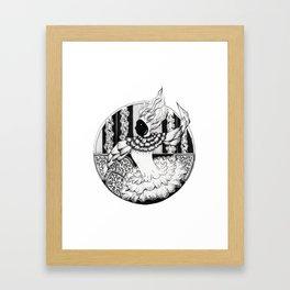 circus chic Framed Art Print