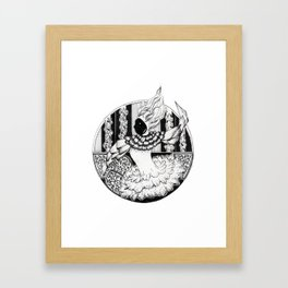 circus chic Framed Art Print