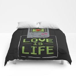 Love is Life Comforters