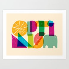 Optimism Art Print