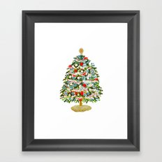 A Christmas Tree Framed Art Print