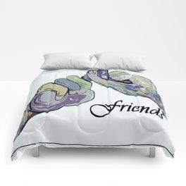 ASL Friends Denim Coloring Comforters