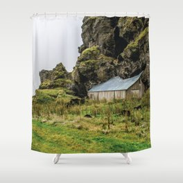House in the Hill Shower Curtain