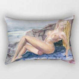 Miss Natural V Rectangular Pillow