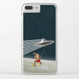 Sky Riders Clear iPhone Case