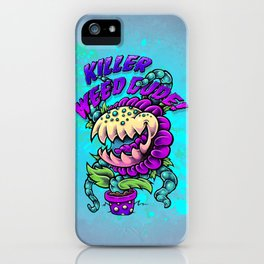 Killer Weed Dude! iPhone Case