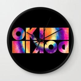 It's OK, It's Alright | Okidoki Wall Clock