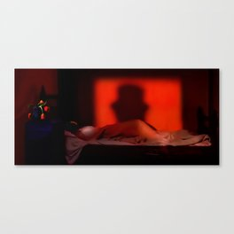 Shadow of the Ripper Canvas Print