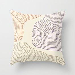Modern Minimal Abstract #2 Throw Pillow