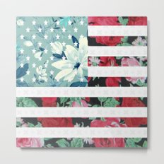 US Flowers Metal Print