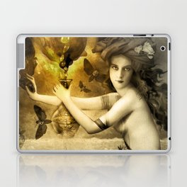 The Blessed Temperance, Gold Laptop & iPad Skin