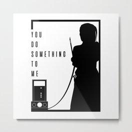 Something - Funeral Pop Art Metal Print