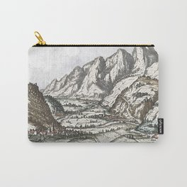 Valley scene of the Tyrol No. 2 Carry-All Pouch