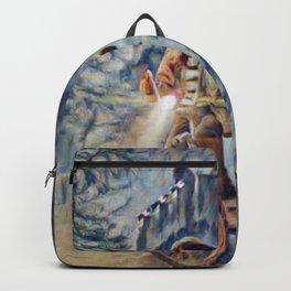 Stranger Boys Things Artistic Illustration Vibrant Fear Style Backpack
