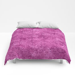 Rosebud Oil Painting Color Accent Comforters
