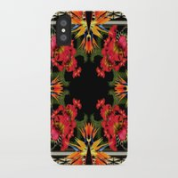 givenchy iPhone & iPod Cases featuring Givenchy- Birds Of Paradise by Jacobello