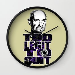 Locke is Too Legit to Quit Wall Clock