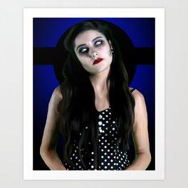 Mez Zombie 2 Art Print