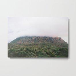 Foggy Mountain Metal Print