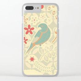 Retro tweety Clear iPhone Case