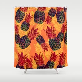 Pineapple Carnival Shower Curtain