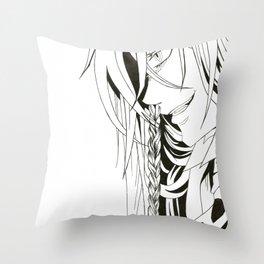 Kuroshitsuji Undertaker Throw Pillow