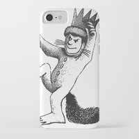 wild things iPhone & iPod Cases featuring Wild things by MrWhite