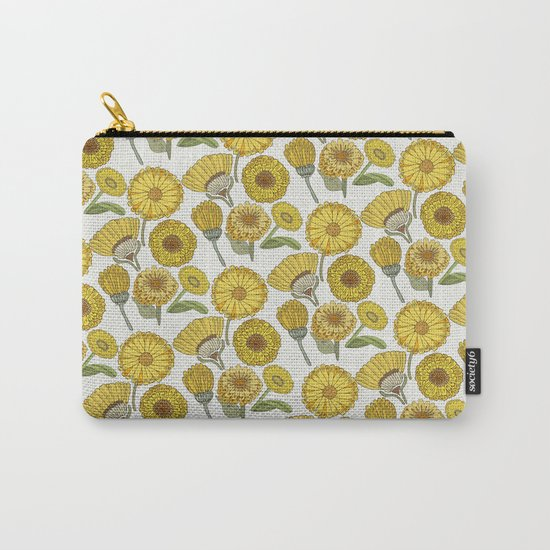 Calendula Florals Carry-All Pouch