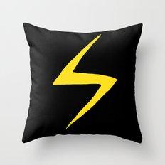 Ms KK Throw Pillow