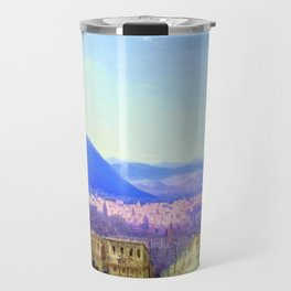 View of Tiflis by by Ivan Aivazovsky Landscape Painting Travel Mug
