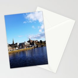 On The Bridge - Inverness - Scotland Stationery Cards