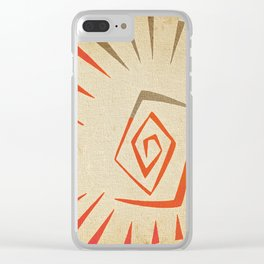Sol Clear iPhone Case