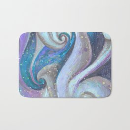 Swirl (blue and purple) Bath Mat