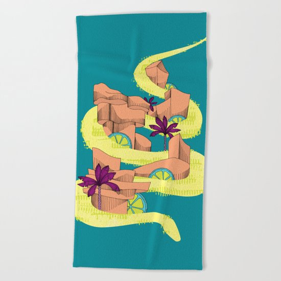 serpencity Beach Towel
