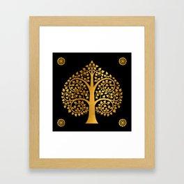 Bodhi Tree0110 Framed Art Print