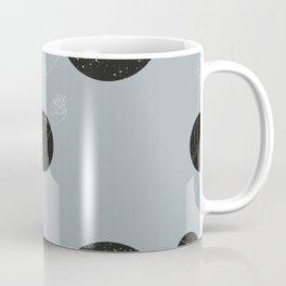 Through the window Gray #pattern Coffee Mug