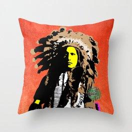 Indian Pop 11 Throw Pillow