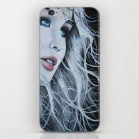 jennifer lawrence iPhone & iPod Skins featuring Jennifer Lawrence  by BrandonScott
