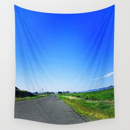 Summer Road Wall Tapestry
