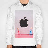 mac Hoodies featuring Hungry Mac by Encolhi as Pessoas