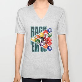 Rack Em Up Unisex V-Neck