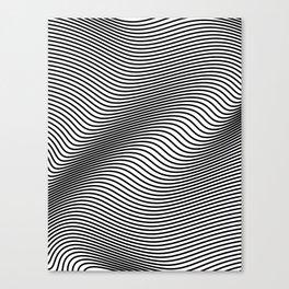 Bold Minimal Lines Canvas Print