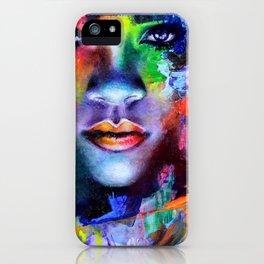 Rihanna Colors iPhone Case