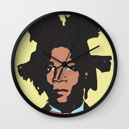 Basquiat Wall Clock