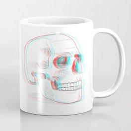 Anaglyph skull Coffee Mug