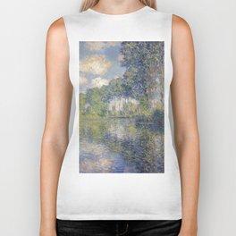 1891-Claude Monet-Poplars on the Epte-81 x 81 Biker Tank